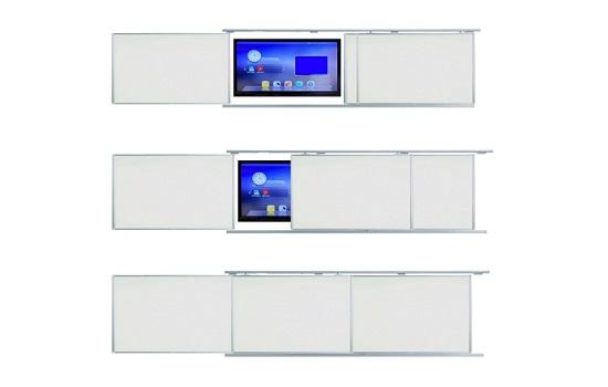 Interaktivni ekran s pločama i kliznim mehanizmomCijena prikazanog kompleta je 14.680,00 + PDV